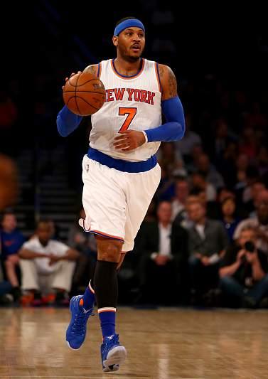 9 - Carmelo Anthony (NY Knicks) - 21,9 ME