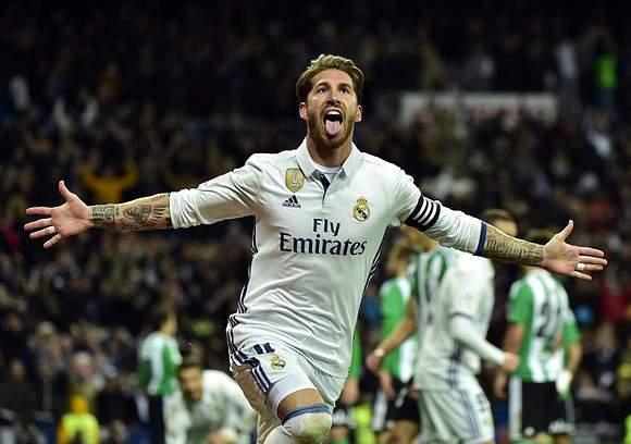 Sergio Ramos, o homem-pontos