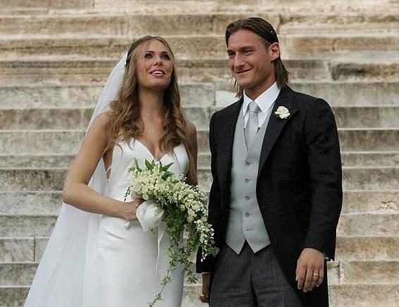 O casamento com Ilary Blasi