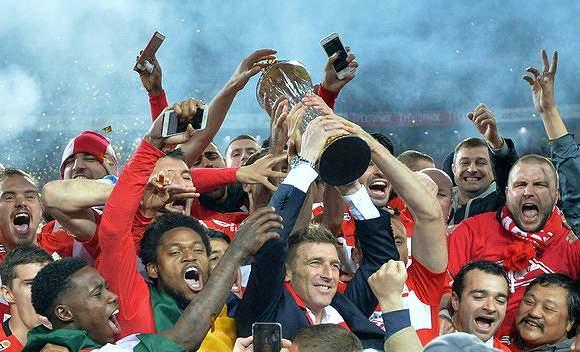 CSKA Moscovo campeão da Rússia