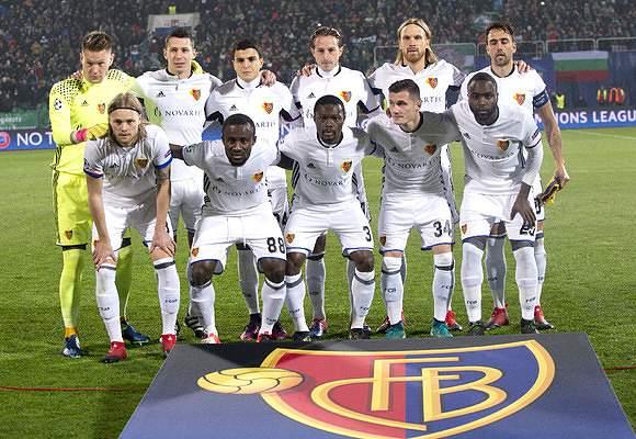 Basileia da Suíça outra vez na Champions