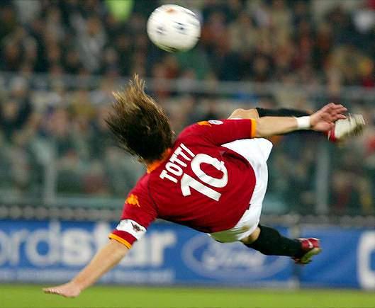 Momento acrobático do ´Imperador` de Roma