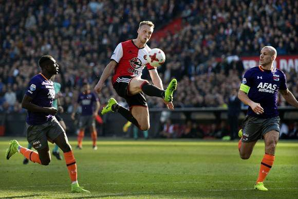 Feyenoord versus AZ Alkmaar