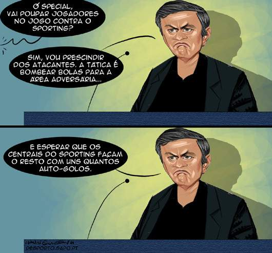 Tática à Mourinho