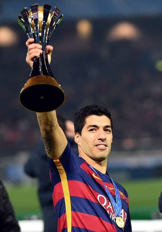 Suárez foi rei da prova