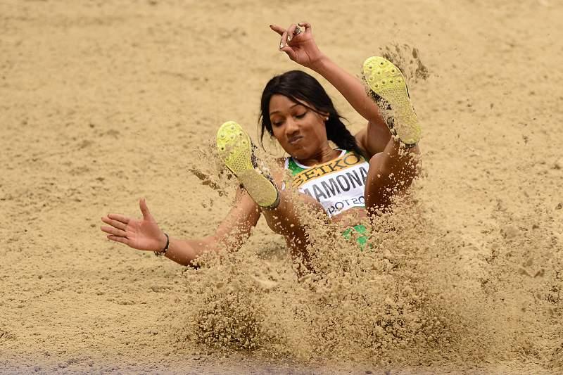 O salto para a medalha de ouro