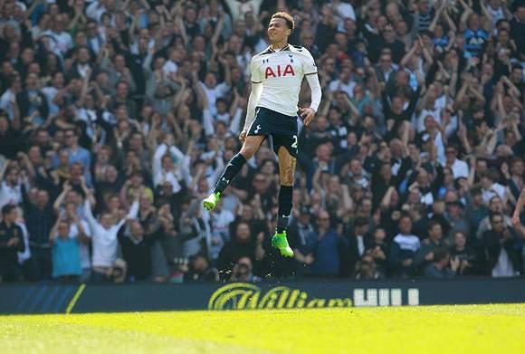 Tottenham voa sozinho no 2.º lugar