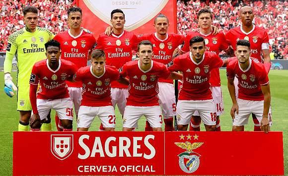 Benfica mais uma vez no pote 1