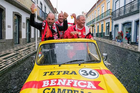 Benfica é tetracampeão