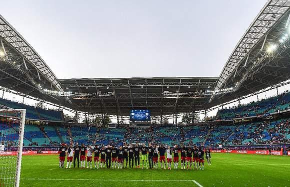 RB Leipzig na Champions pela 1.ª vez