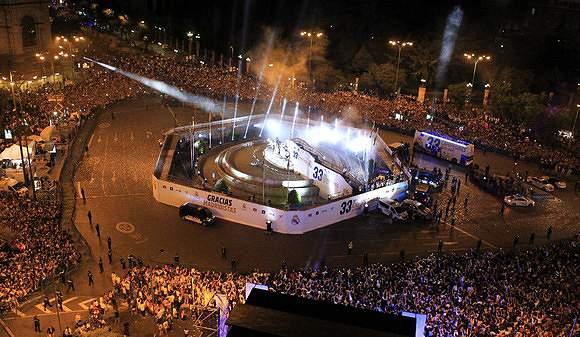 Vista da Praça Cibeles