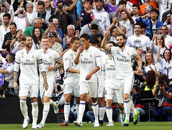 Real Madrid também no pote 1