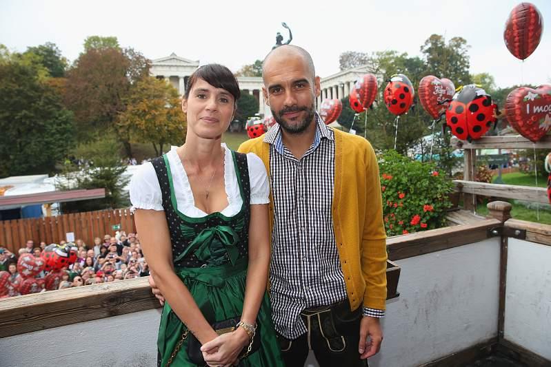 Cristina e Pep Guardiola