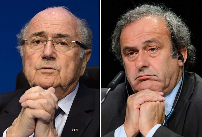 Blatter e Platini suspensos por 8 anos