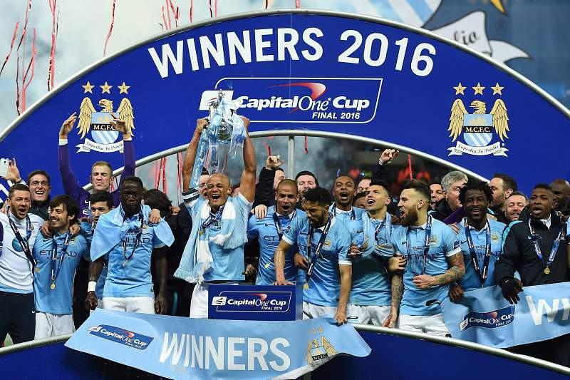 28 Fev:Manchester City vence Taça da Liga