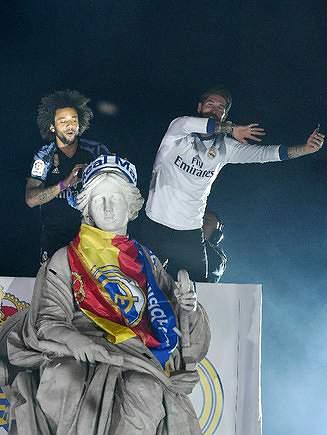 Marcelo e Sergio Ramos