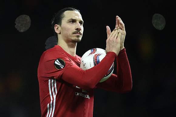Zlatan levou a bola para casa