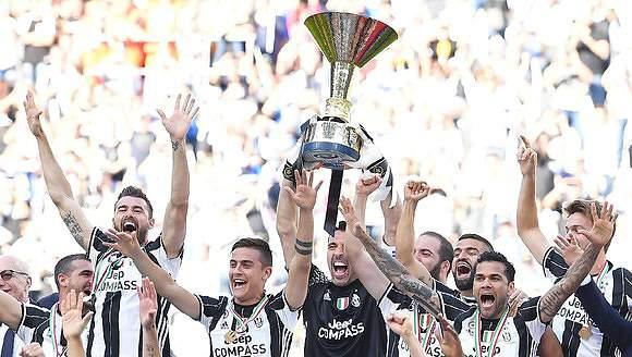 Juventus festeja o hexa