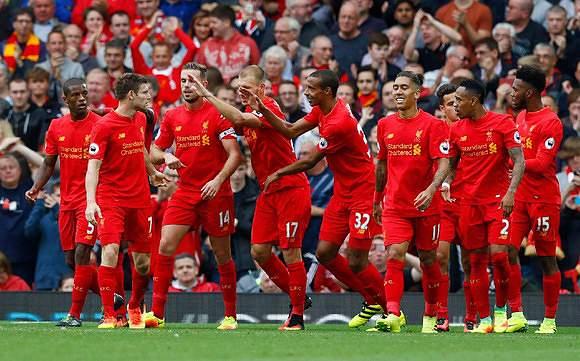 5. Liverpool - 588,3 milhões de euros
