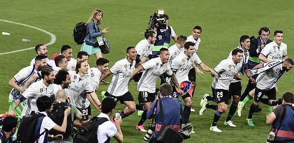 Cinco anos depois, o Real Madrid vence La Liga
