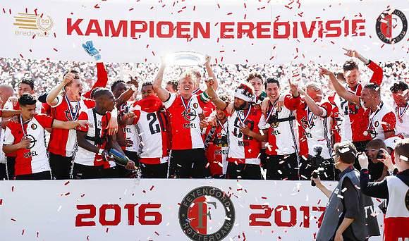 Feyenoord voltou a ser campeão