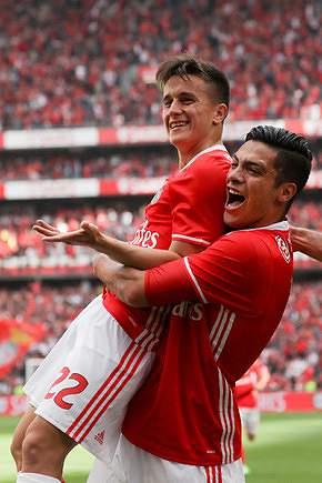 O melhor do Benfica na época 2016/17