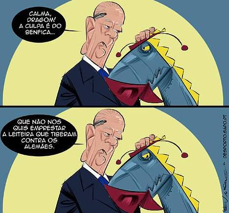 A culpa é do Benfica