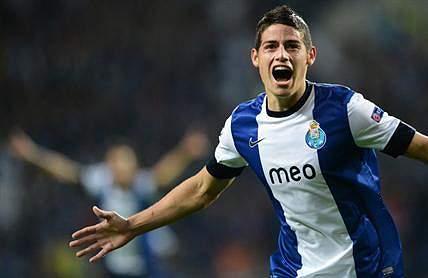 James Rodriguez - 45 milhões de euros