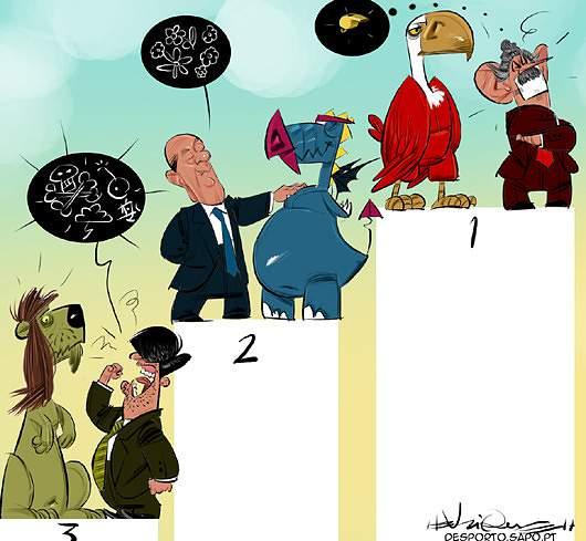 A tabela dos humores