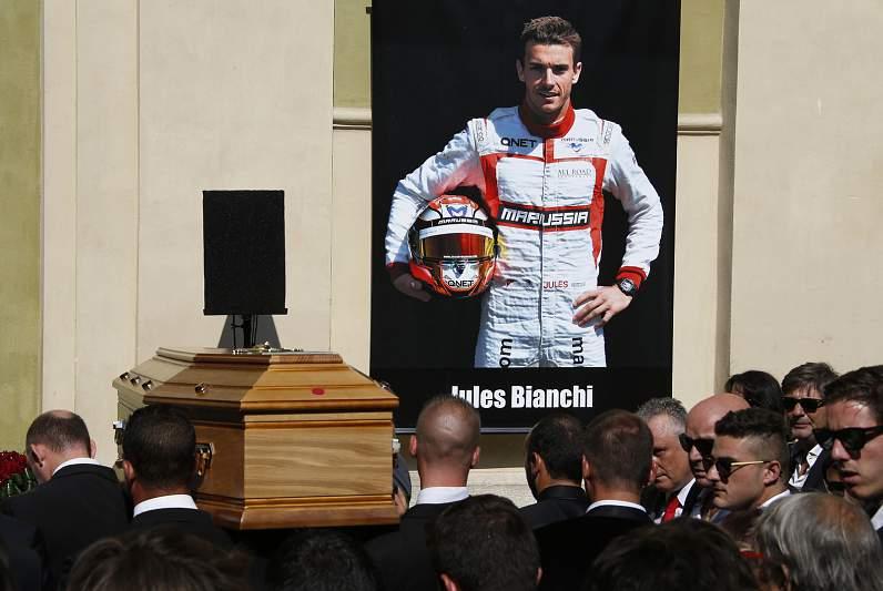 Jules Bianchi partiu demasiado cedo