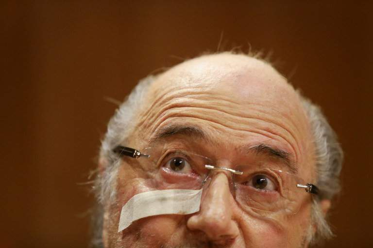 Adeus, Joseph Blatter