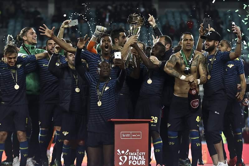 Final da Taça da Liga: Moreirense faz a festa