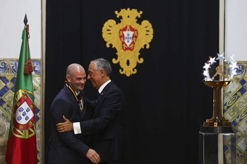 Marcelo com Reinaldo Ventura
