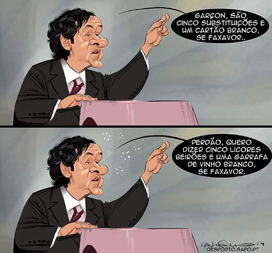 O lapso de Platini
