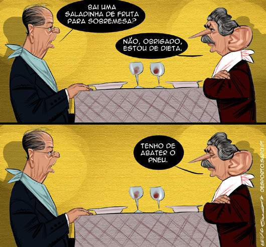 O almoço dos presidentes