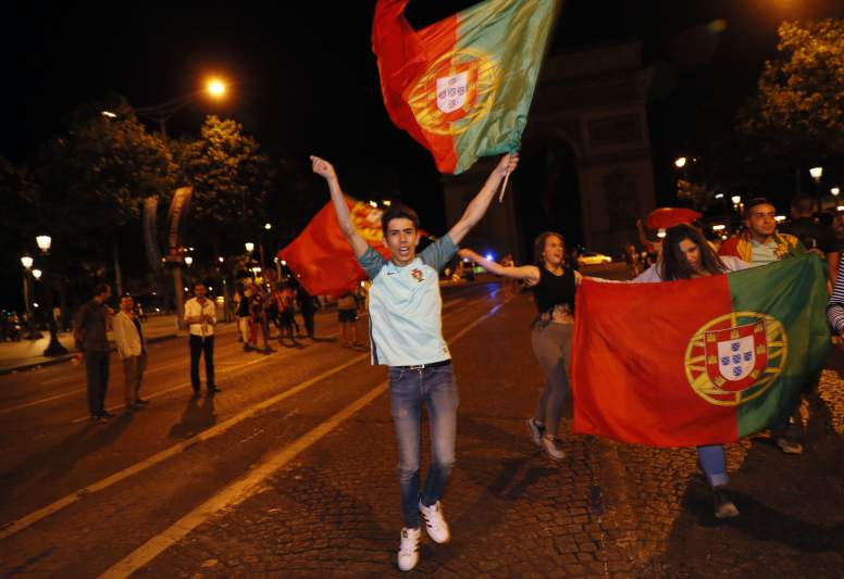 A festa de Portugal com a conquista do Euro2016