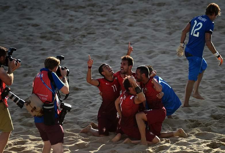 Portugal campeão do mundo de futebol de praia