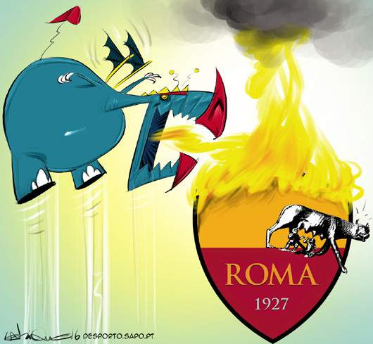 Roma a arder