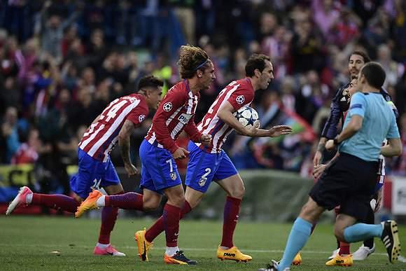 Atlético Madrid garante Champions
