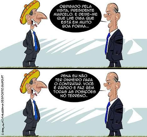 Os presidentes no México