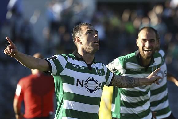 Bruno César marcou o segundo golo dos 'leões