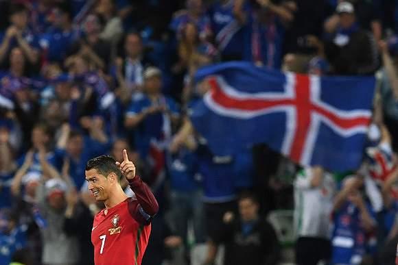 Ronaldo festeja