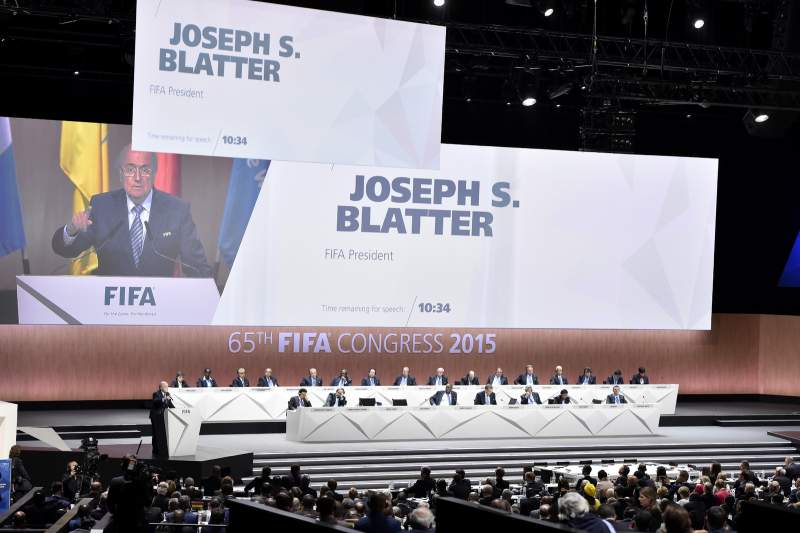 Maio: Escândalo FIFA chega ao 65º Congresso