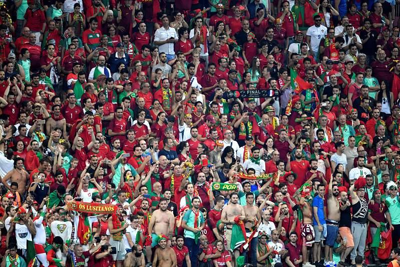 Portugal esteve em Saint-Denis