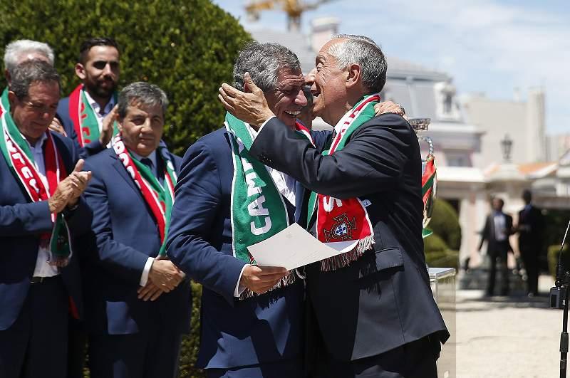 Receção da Seleção Portuguesa em Belém