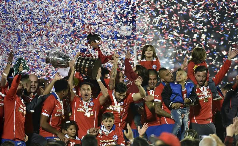 Chile vence a Copa América