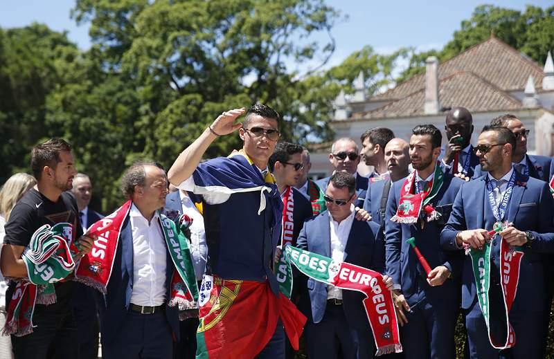 Cristiano Ronaldo em Belém
