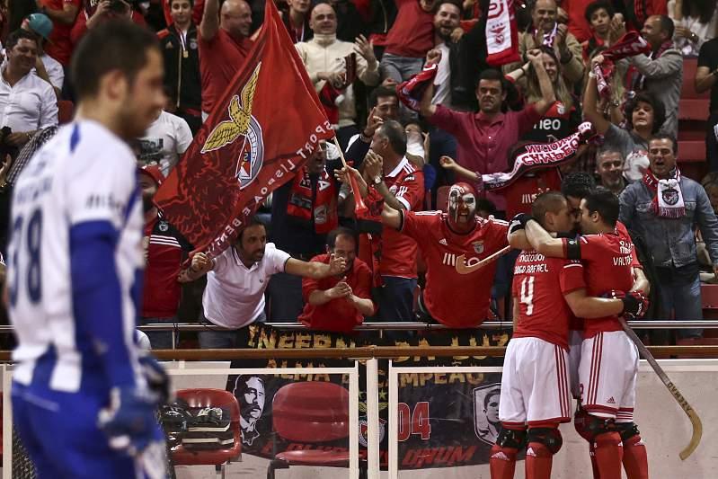 Benfica campeão de hóquei 2014/15