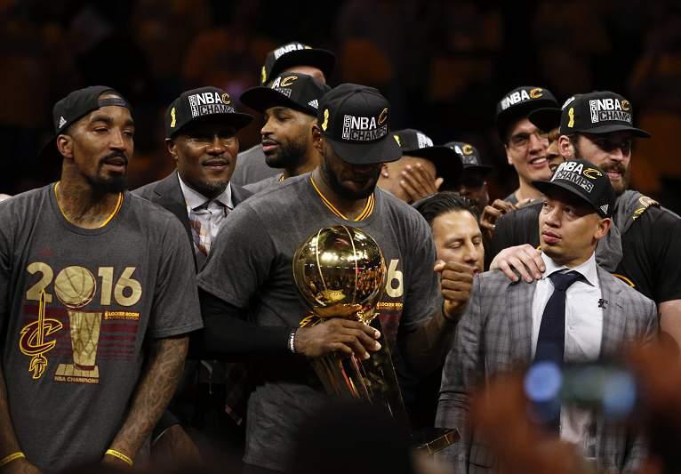 LeBron James : MVP da final