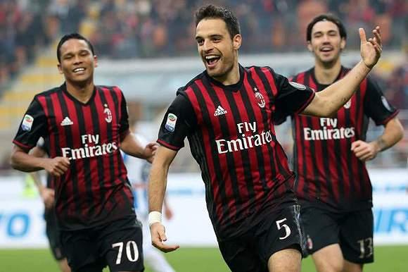 1.63 - AC Milan (601 golos/369 jogos)